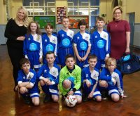 Young footie team get first class boost!