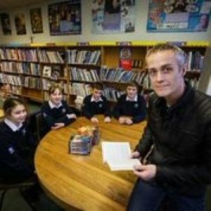 Author Dan Smith Visits Local High School