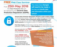 First class gdpr seminars