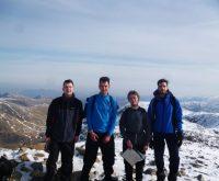 Jonny completes 3 Peaks Challenge