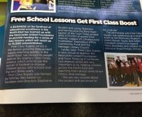 Free School Lessons Get First Class Boost