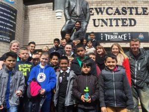 Pupils enjoy 'My First Match' experience!
