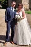 Congratulations to mr & mrs hall!