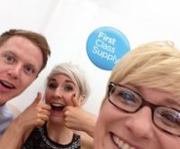 Having fun at the Northumbria Uni NQT Conference!!