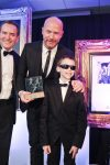 Foundation Champion Mikey meets Alan Shearer