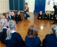 Lucky Northumberland School enjoys Seven Stories Workshop