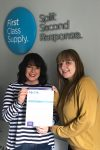 First class receive rec audit accolade!