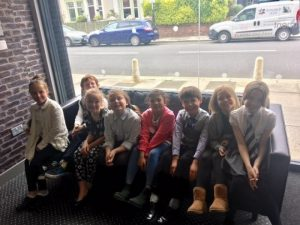 World of work youngsters join First Class!