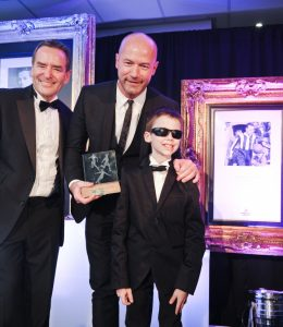 Foundation Champion Mikey meets Alan Shearer!