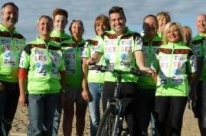 First Class Supply sponsor Joe McElderry and Team Coast to Coast