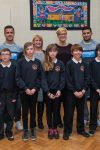 Toon players visit first class school!