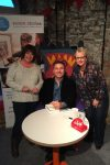 Lesley and Steph meet David Walliams!