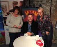 Lesley and Steph meet David Walliams!