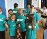 First Class sponsor young musicians!