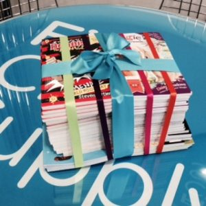 Our Big Book Give Away!!