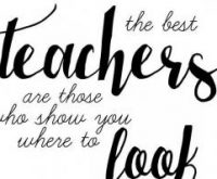 Just like our wonderful teachers…