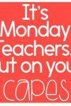 Just a little first-Monday-back-after-half-term motivation!