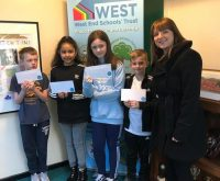 We give lucky pupils tickets for 'The Big One!'