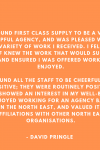 Feedback from one of our lovely primary teachers