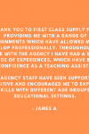 Another lovely testimonial for us!