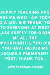 And another lovely testimonial!