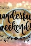 Have a lovely weekend everyone!