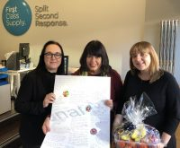 Lovely thank you from St Oswald's Hospice