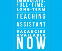 TAs, Nursery Nurses, One:One and SEN Specialists – we need you!!