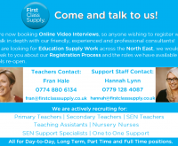 Book your online interview with us now!