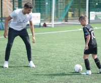 Still time to book your holiday footie courses…..