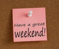 Have a great weekend! :-)