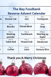 The BAY Foodbank 'Reverse Advent Calendar'