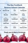 The BAY Foodbank 'Reverse Advent Calendar'