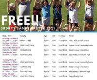 FREE Sports Camps for local Northumberland Children over Easter Holidays!