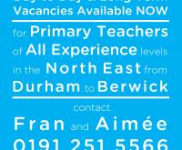 Primary Teachers – we need you!