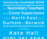 Join our First Class team for Secondary Teaching vacancies
