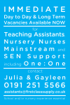 Join our First Class team for Support Staff roles