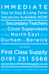 Passionate Secondary Teachers wanted to join our First Class team