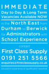 School Administration Roles Available!
